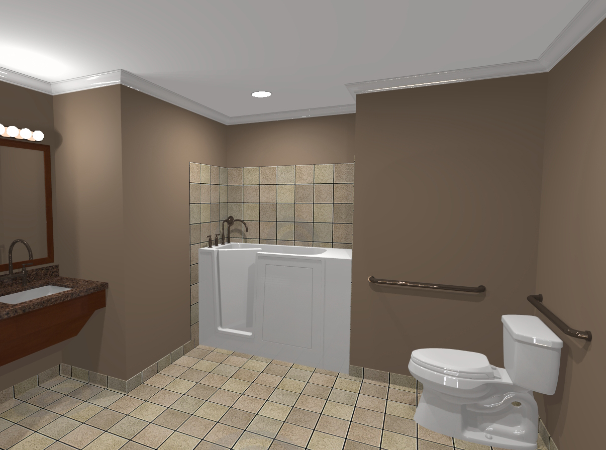 FlexAssist™ Bathroom - Modular Additions and Cottages for Aging in ...